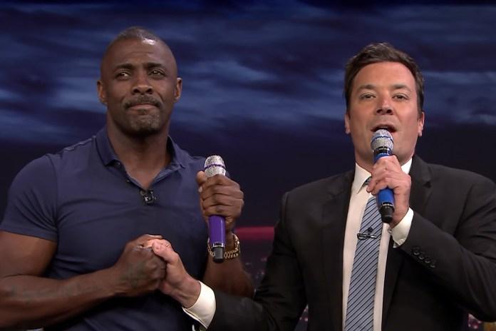 Watch Idris Elba and Jimmy Fallon Sing Desiigner and Drake