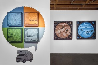 "Jeremy Fish & Jim Houser Open ""New Works"" Show @ Thinkspace"