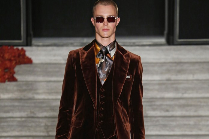 Brioni's 2017 Spring/Summer Collection Is Justin O'Shea's Ode to Rock 'N' Roll Royalty