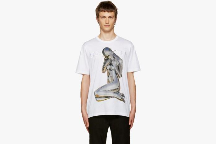 Juun.J Prints Hajime Sorayama's Sensual Robots on T-Shirts