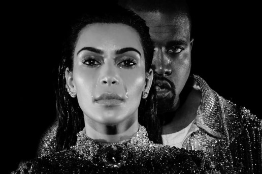 "Kanye West Officially Releases the Visual For ""Wolves,"" Backed by Balmain"