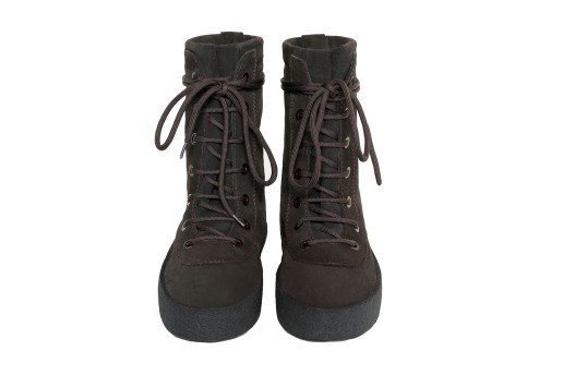 "Kanye West Releases the YEEZY Season 2 Military Crepe Boot in ""Oil"""