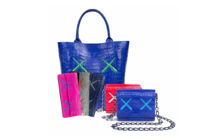 KAWS Links up With Nancy Gonzalez to Create a Luxurious Line of Leather Accessories