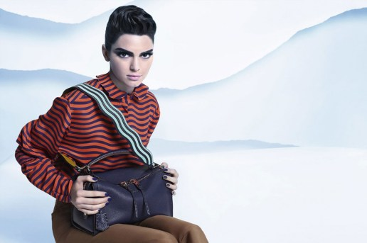 Kendall Jenner to Star for Fendi Once Again in Its 2016 Fall Campaign