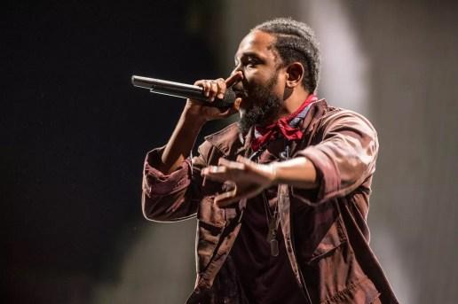 Kendrick Lamar Jams Hard During His Panorama Festival Performance