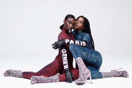 The KENZO x H&M Collection Shows Us Colorful Tiger Prints in This First Look