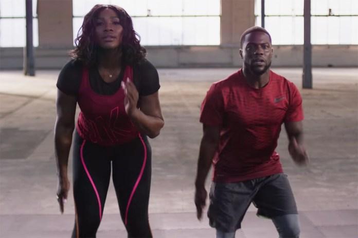 "Kevin Hart & Serena Williams Create ""The Hart Serena"" Workout"