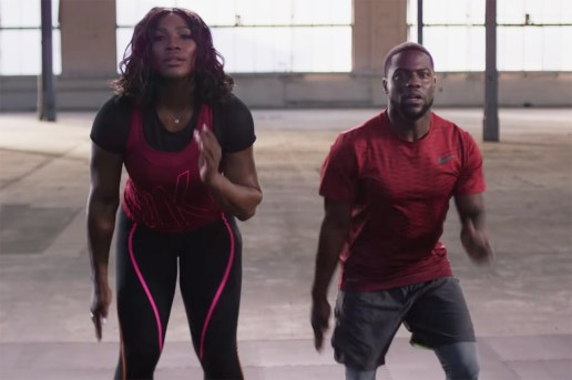 "Kevin Hart & Serena Williams Create ""The Hart Serena"" Workout"