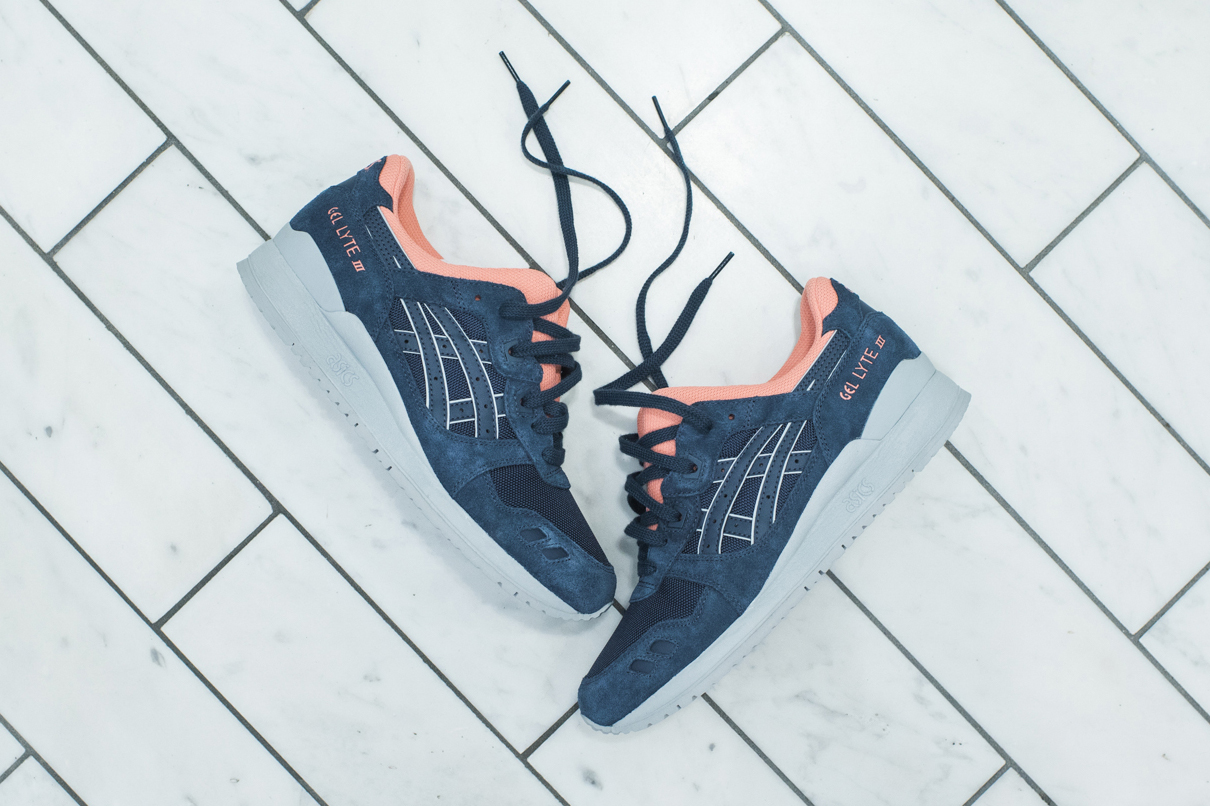 """KITH Just Dropped an Exclusive """"Indian Ink"""" ASICS GEL-Lyte III"""