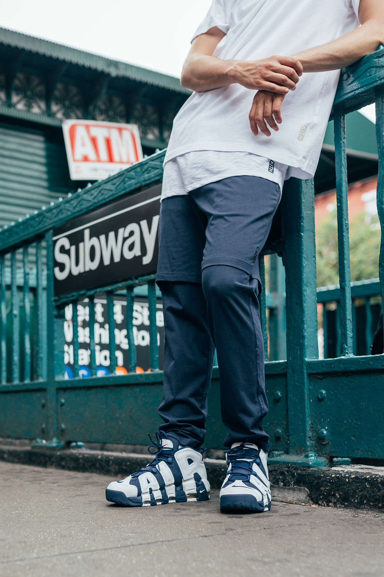 Nike Air More Uptempo Editorial By KITH | HYPEBEAST