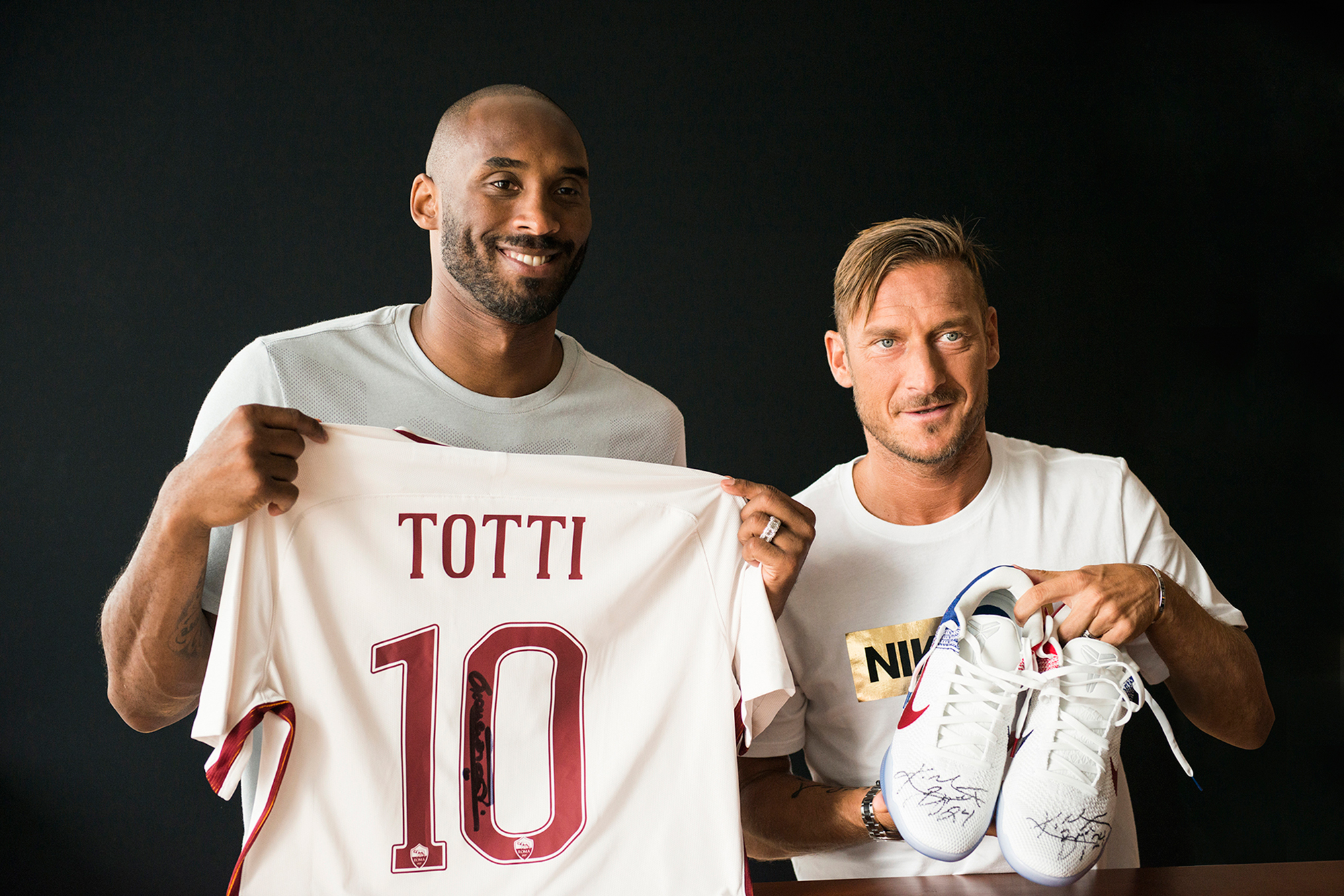A Meeting of Number 10s: Kobe Bryant & Francesco Totti