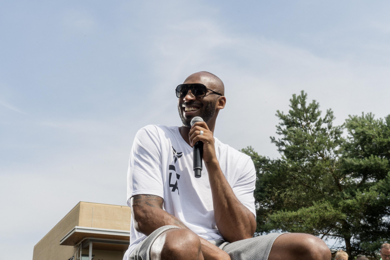 """Kobe Bryant Brings """"Mamba Mentality"""" to Europe"""