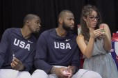 USA Basketball's Kyrie Irving, Kevin Durant and DeMarcus Cousins Face off in a Game of Taboo