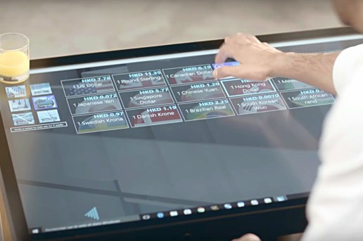 La Table Kineti Is the Affordable Touchscreen Table for Your Living Room