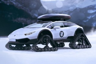 The Lamborghini Huracan Snowmobile Is Designed for Luxury Winter Travels