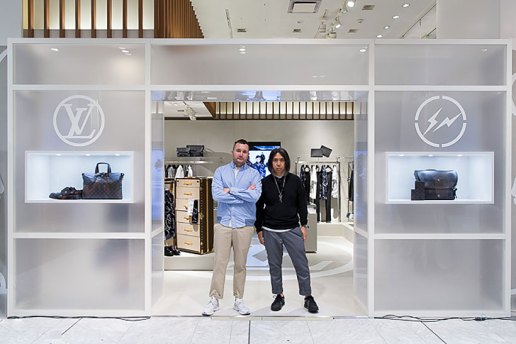 More Than 4,000 People Lined up for the fragment design x Louis Vuitton Pop-Up Shop at Isetan