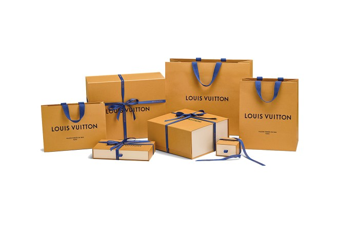 Louis Vuitton Reveals Imperial Saffron Packaging Range