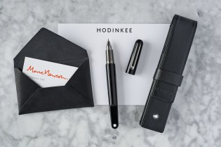 HODINKEE Is Offering an Exclusive Marc Newson x Montblanc Pen Set