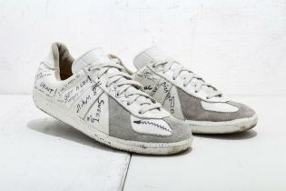 These Original Margiela German Army Trainers Are a Piece of Fashion History