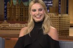 Picture of Margot Robbie Told Jimmy Fallon That She 'Ruined the Name of Tattoo Artistry'