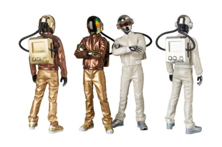 These Daft Punk Figures From Medicom Accurately Recall the Duo's Outfits From 'Discovery'