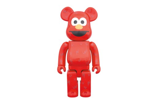Elmo Gets the Medicom Toy 400% BE@RBRICK Treatment