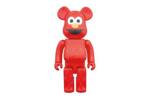Elmo Gets the Medicom Toy 400% BE@RBRICK Treatment
