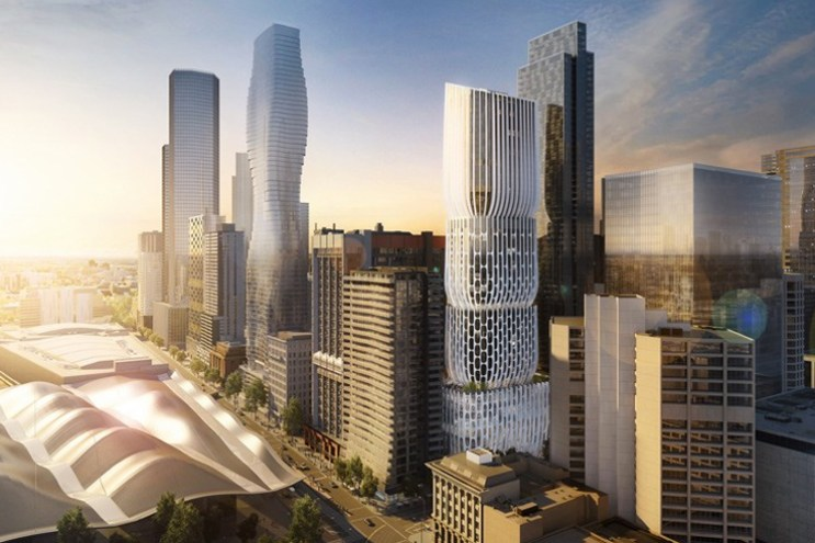Melbourne Is Getting Its First Zaha Hadid Building