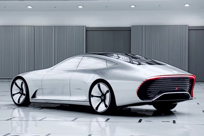 """Mercedes-Benz Will Unveil Its """"Dangerously Fast"""" Electric Sedan at Paris Motor Show"""