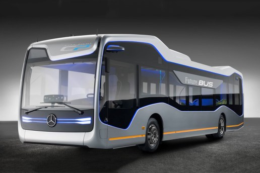 The Mercedes-Benz Future Bus Will Change the Way We Commute to School and Work