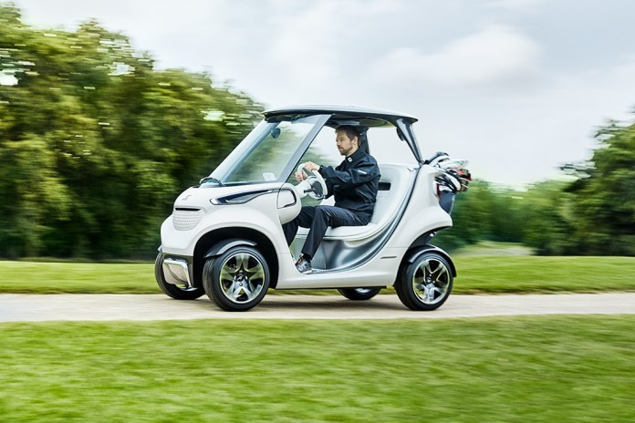 Mercedes-Benz Releases the Most Luxurious Golf Cart on the Planet