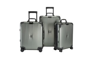 "Moncler and Rimowa Team up Again for the ""Topas Stealth"" Luggages Collection"