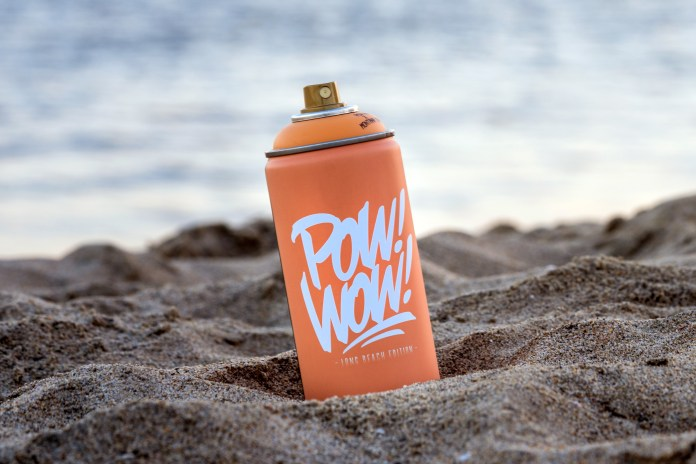 Montana x POW! WOW! Deliver Long Beach G2030 Blast Orange Spray Can