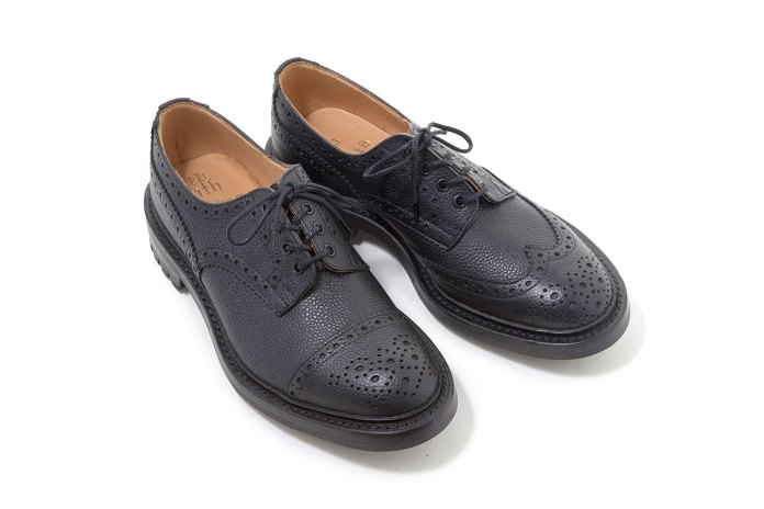 NEPENTHES Offers Another Asymmetrical Take on the Classic Gibson Derby Shoe