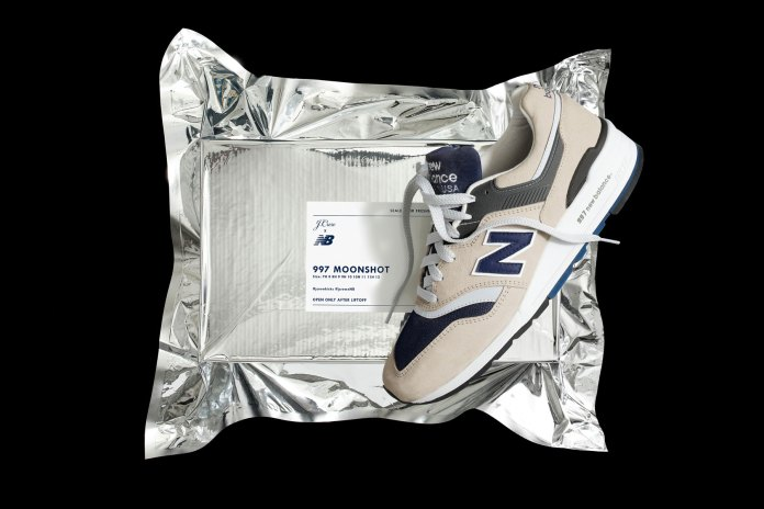 """New Balance and J.Crew Celebrate Mankind's Giant Leap With a """"Moonshot"""" 997"""