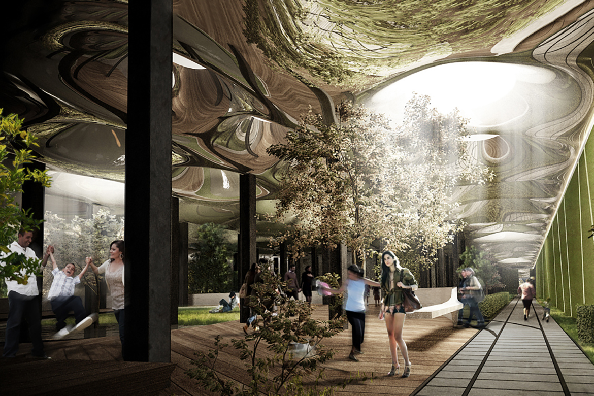 Check out the World's First Underground Park