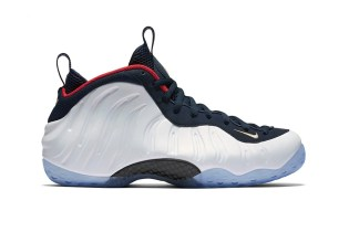 """The Nike Air Foamposite One """"Olympic"""" Is Apparently the Most Desired Pair"""