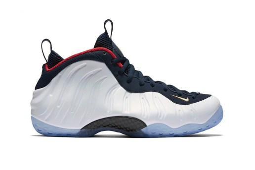 "The Nike Air Foamposite One ""Olympic"" Is Apparently the Most Desired Pair"