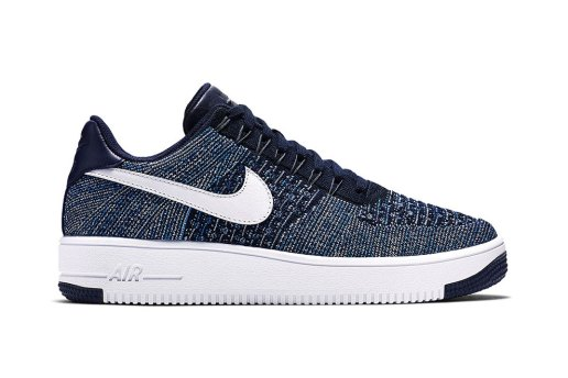 "Nike Air Force 1 Flyknit ""Navy"""