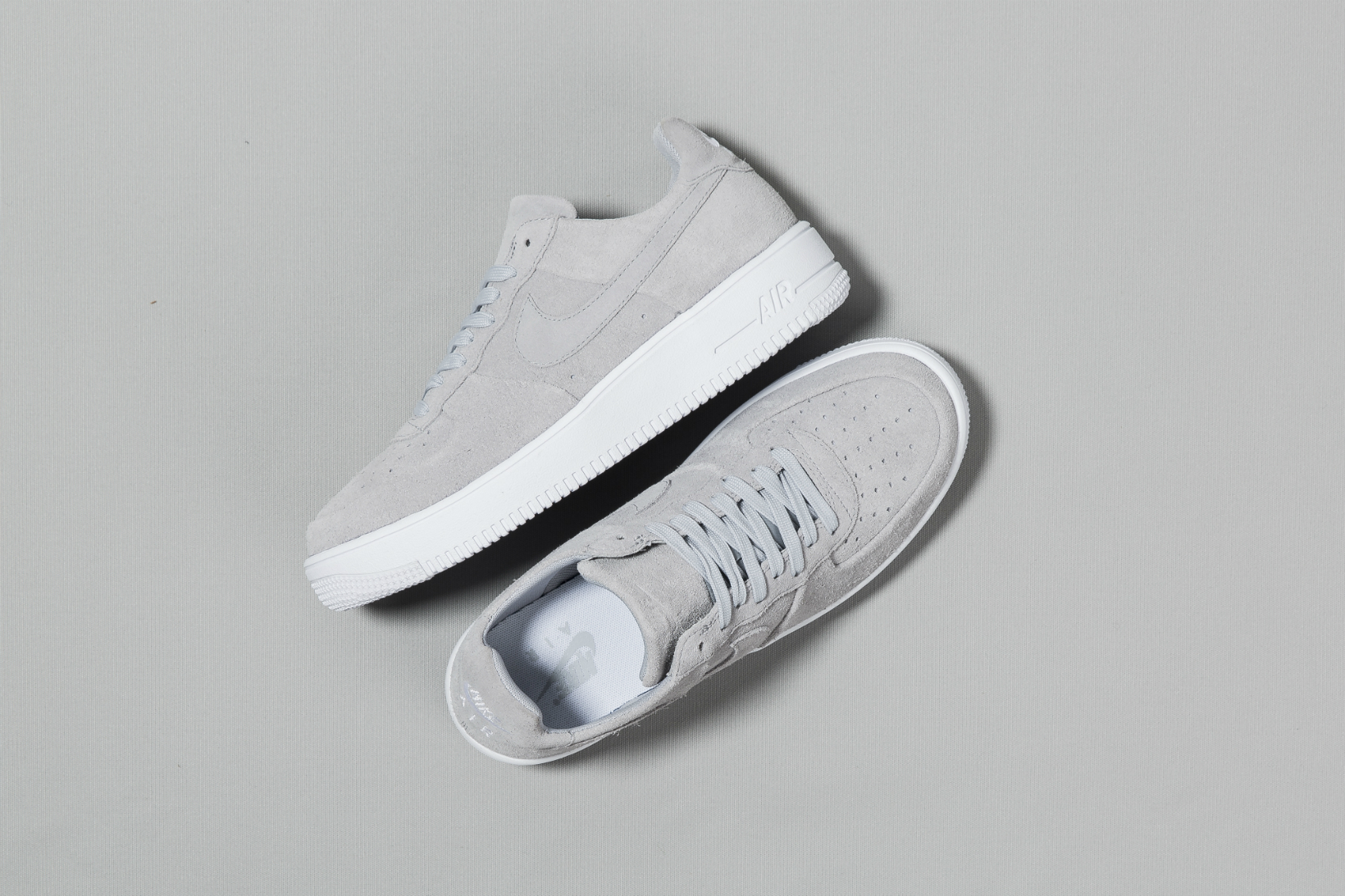"Nike Air Force 1 Ultraforce Drops in a Sleek ""Wolf Grey"" Colorway"