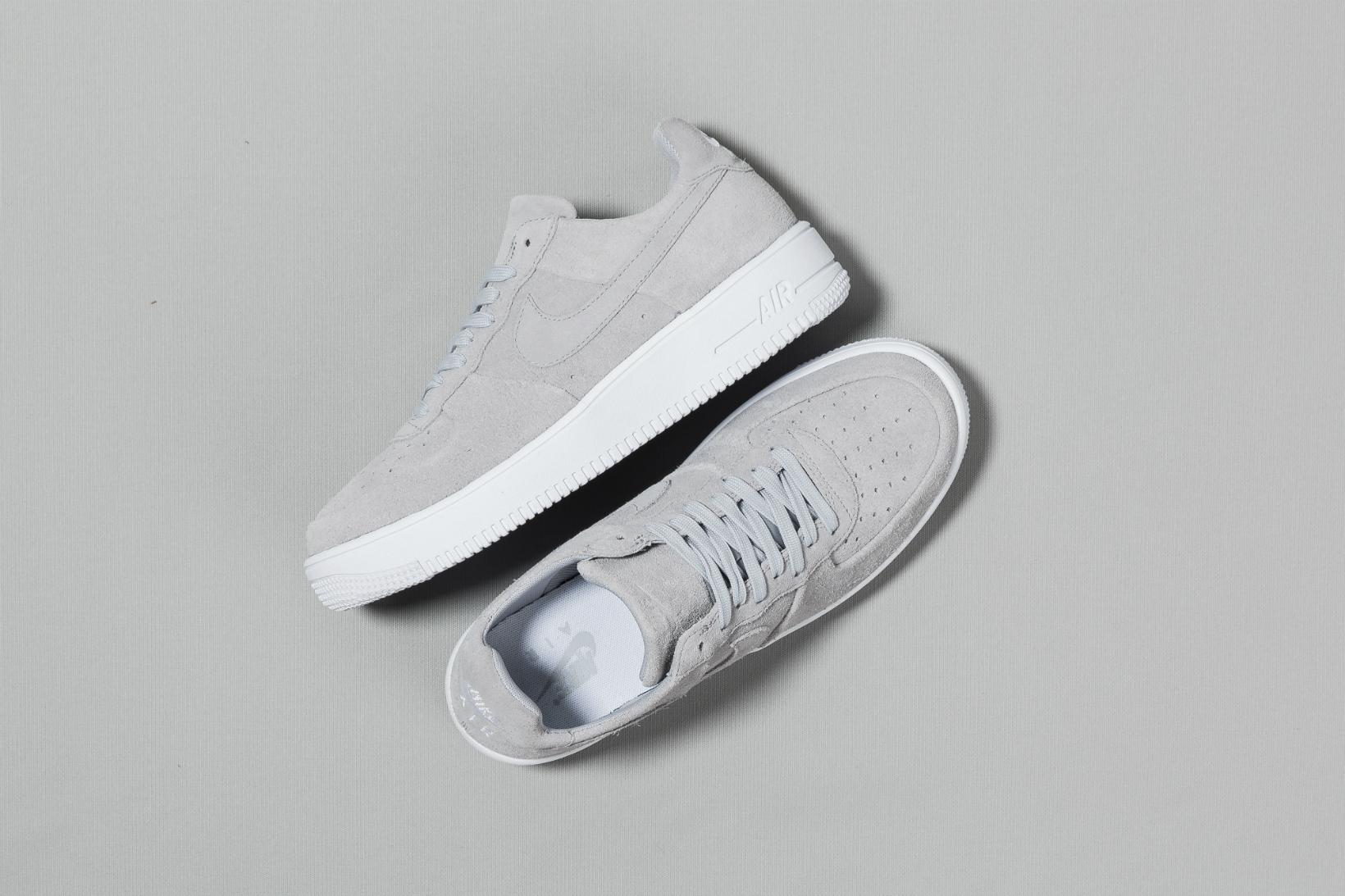 Nike Air Force Grey Suede
