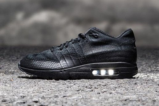 "A Sneak Peek at the Nike Air Max 1 Ultra Flyknit ""Triple Black"""
