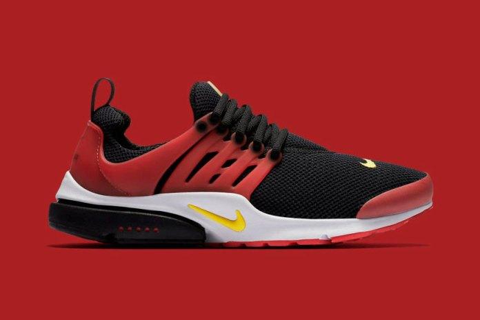 "Nike Releases a ""Bred"" Air Presto"