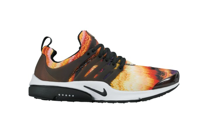 """The Nike Air Presto Is Unveiled in a Bold """"Fire Waves"""" Design"""