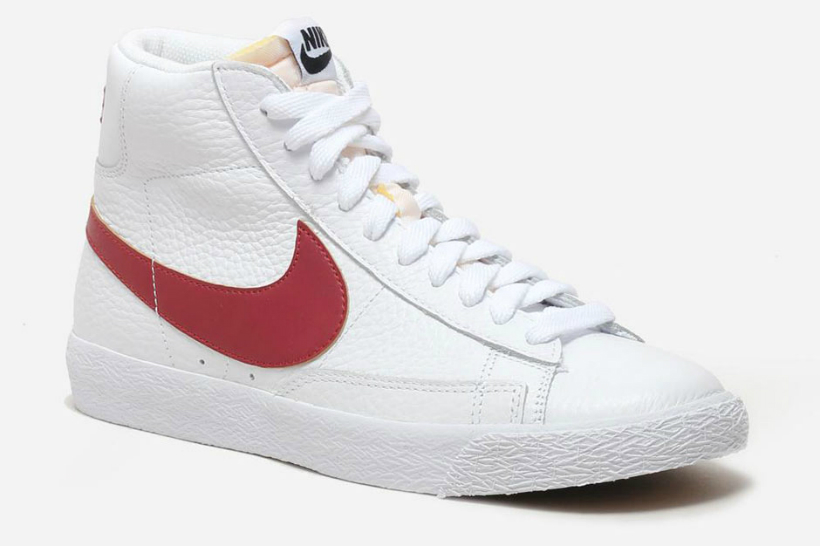nike blazer mid two retro colorway options red and black. Black Bedroom Furniture Sets. Home Design Ideas