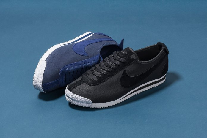 "Nike Releases the Cortez '72 QS in ""Black"" and ""Loyal Blue"""