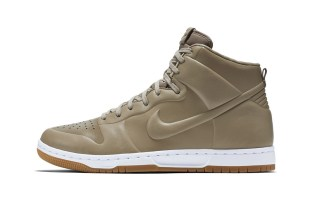 Nike Subtracts the Seams With the Dunk High CRFT