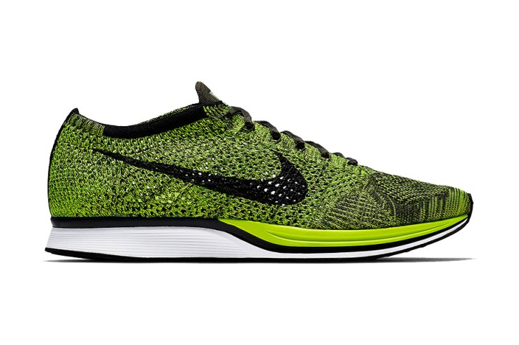 "Nike Is Bringing Back ""Volt"" Flyknit Racers"