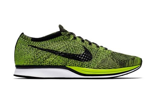 """Nike Is Bringing Back """"Volt"""" Flyknit Racers"""