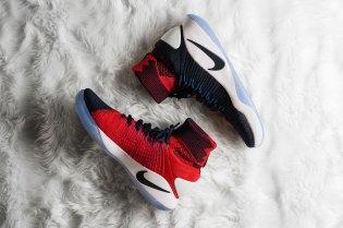 "Nike Hyperdunk 2016 Flyknit ""Dark Obsidian/Bright Crimson"""